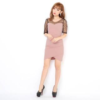 デイジーストア(dazzy store)のキャバ嬢ドレス ピンク(ミニドレス)
