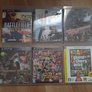 プレイステーション3(PlayStation3)のPS3 2枚 500円 4枚 800円 プレステ3(家庭用ゲームソフト)