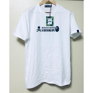 A BATHING APE - A bathing ape x mastermind Tシャツ コラボ 新品未