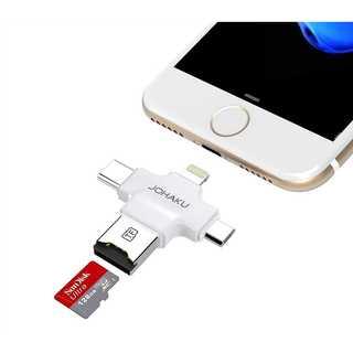 iPhone 容量増やせる 外付けUSBメモリー128GB シルバー