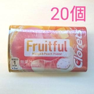 [送料込] クロレッツ フルーツフル タブレット 20個セット(菓子/デザート)