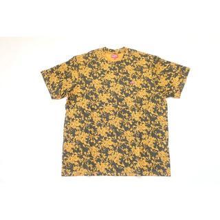 シュプリーム(Supreme)の(M)Supreme Small Box Logo Tee花柄黒ボックスロゴ(Tシャツ/カットソー(半袖/袖なし))