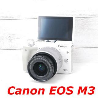 キヤノン(Canon)の❤️Wi-Fi搭載❤️自撮り❤️Canon EOS M3(ミラーレス一眼)