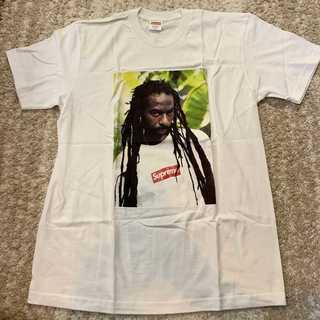 シュプリーム(Supreme)のSupreme Buju Banton Tee 白M(Tシャツ/カットソー(半袖/袖なし))
