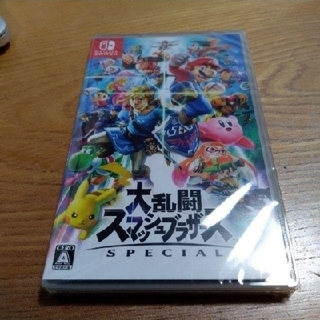 Nintendo Switch - 【新品・未開封】大乱闘スマッシュブラザーズ SPECIAL スマブラ