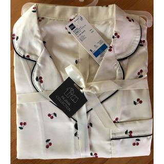 ジーユー(GU)のGU チェリーパジャマ(半袖&ショートパンツ)(パジャマ)