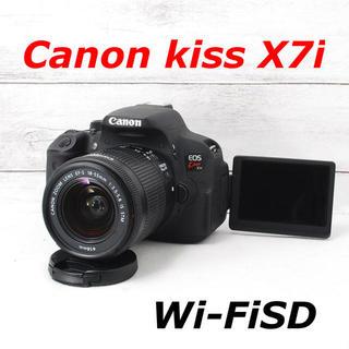 キヤノン(Canon)の❤️Wi-FiSD付き❤️自撮り❤️Canon kiss X7i(デジタル一眼)