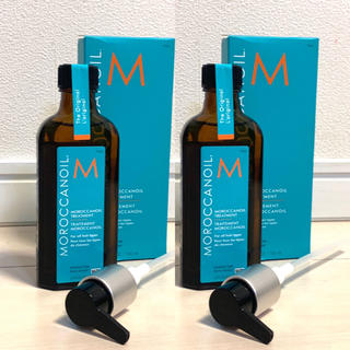 Moroccan oil - 送料込★正規品★100mlx2本セット★モロッカンオイル ヘアオイル