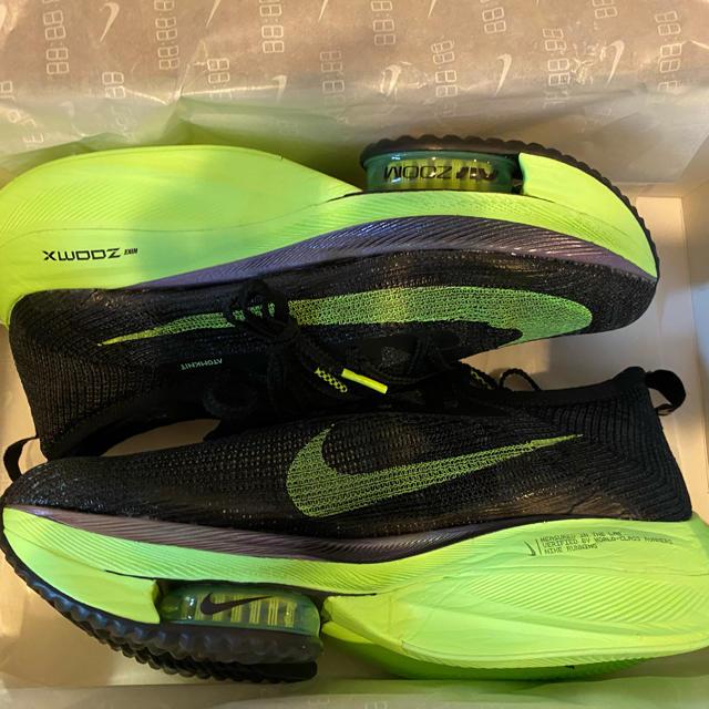 NIKE(ナイキ)の27.5cm NIKE ナイキ エア ズーム アルファフライ ネクスト%  メンズの靴/シューズ(スニーカー)の商品写真