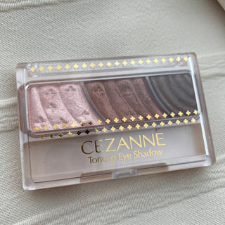 CEZANNE(セザンヌ化粧品) - セザンヌ トーンアップアイシャドウ 04 ピンクブラウン