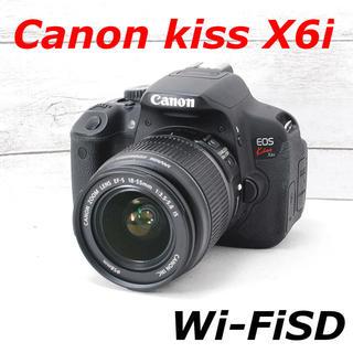 キヤノン(Canon)の❤️スマホ転送&自撮り❤️カメラバッグ付き❤️Canon kiss X6i(デジタル一眼)
