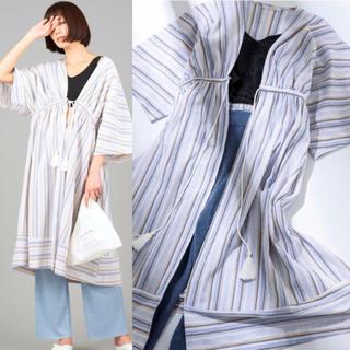 シールームリン(SeaRoomlynn)の新品 テリトワール 楊柳 コットン ロングカーディガン 羽織り ルームウェア(ルームウェア)