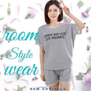 ルームウェア セットアップ パンツ 短パン ショートパンツ パジャマ Tシャツ(ルームウェア)