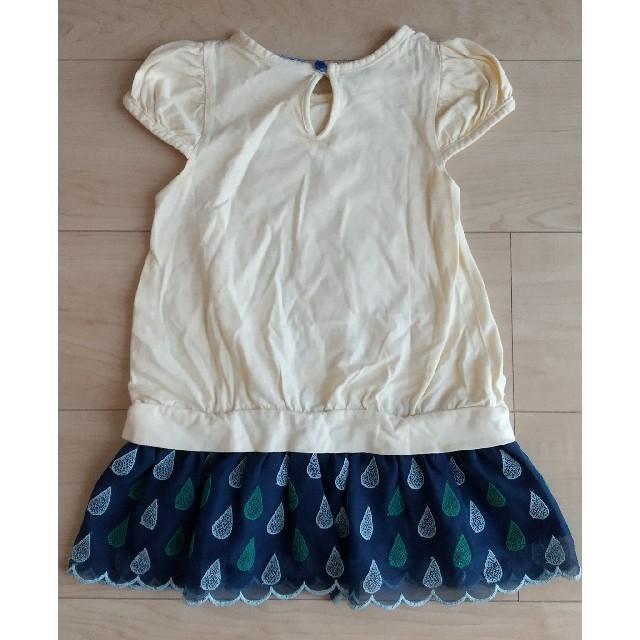 Petit jam(プチジャム)のプチジャム チュニック キッズ/ベビー/マタニティのキッズ服女の子用(90cm~)(Tシャツ/カットソー)の商品写真