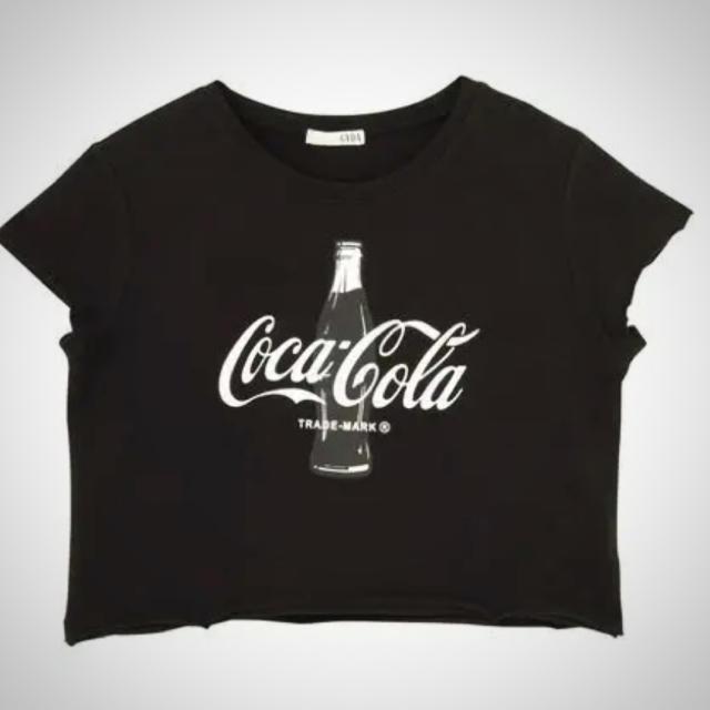 GYDA(ジェイダ)の新品  GYDA コカコーラTシャツ  メンズのトップス(Tシャツ/カットソー(半袖/袖なし))の商品写真