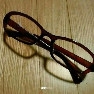 【新品未使用】PCメガネ ブルーライトカットメガネ UVカットメガネ 伊達メガネ(サングラス/メガネ)