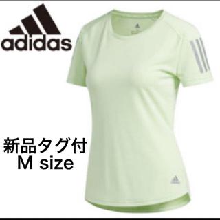 アディダス(adidas)の新品 レディース アディダス Tシャツ ランニング   L(ウェア)