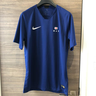 ナイキ(NIKE)の「希少」Nike Lab 21 Mercer 2018 サッカージャージ 日本(Tシャツ/カットソー(半袖/袖なし))