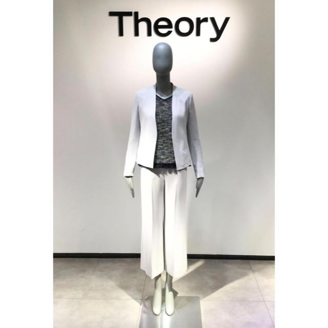 theory(セオリー)のTheory 18SS ワイドパンツ  レディースのパンツ(カジュアルパンツ)の商品写真