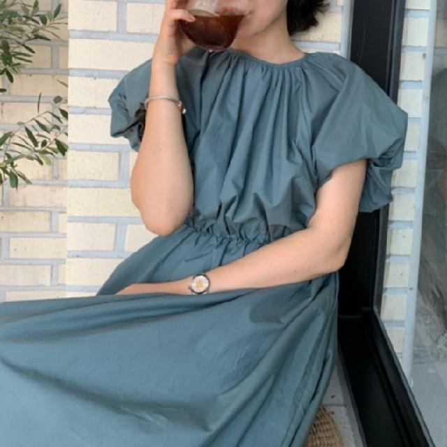 ZARA(ザラ)のぽわん袖 ワンピース 【2color】 レディースのワンピース(ロングワンピース/マキシワンピース)の商品写真