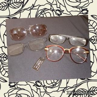 サングラス&UV防止伊達眼鏡(サングラス/メガネ)