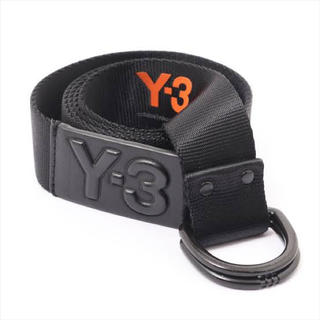 Y-3 - 【最終値下げ】Y-3ワイスリー ロゴベルト レザー オールブラック L