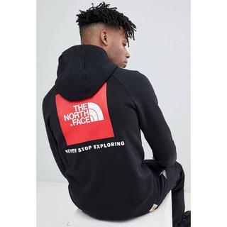 THE NORTH FACE - 【Mサイズ】新品 ロゴ パーカー North face ブラック ボックス ロゴ