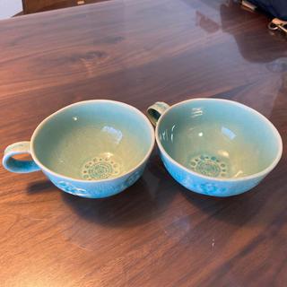 アンソロポロジー(Anthropologie)の【Anthropologie】Old havana マグカップ2個セット(グラス/カップ)