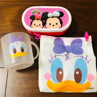 ディズニー(Disney)のツムツム 弁当箱 コップ 巾着 セット(弁当用品)