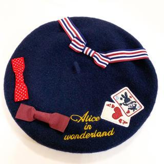 スイマー(SWIMMER)のswimmer スイマー アリストランプ柄 ベレー帽(ハンチング/ベレー帽)