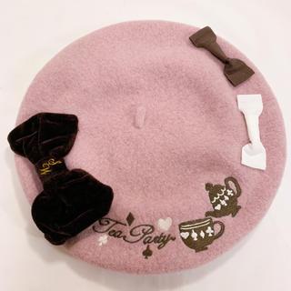 スイマー(SWIMMER)のswimmer スイマー ティーポット刺繍ベレー帽(ハンチング/ベレー帽)