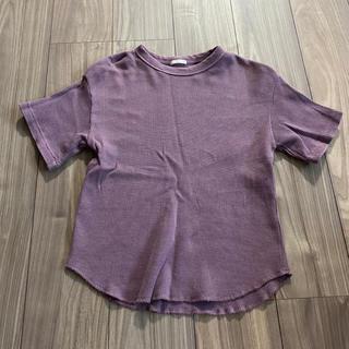 ジーユー(GU)のGU ジーユー トップス 半袖 レディース M(Tシャツ(半袖/袖なし))
