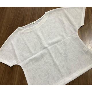 ジーユー(GU)のレディース  半袖(Tシャツ(半袖/袖なし))