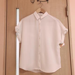 ジーユー(GU)のGU シャツ Msize(シャツ/ブラウス(半袖/袖なし))