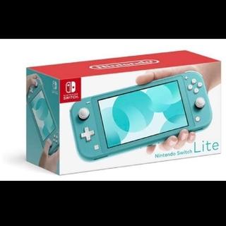Nintendo Switch - 新品 ニンテンドー スイッチライト ターコイズ Switch right 本体