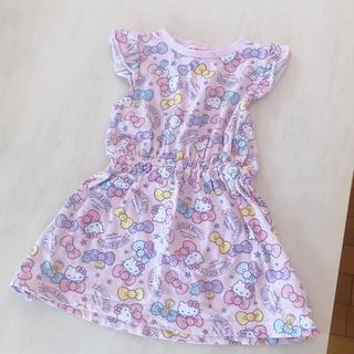 西松屋 - キティちゃん ワンピース 90 女の子 ピンク