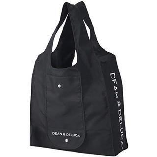 DEAN&DELUCA エコバッグ ブラック ショッピングバッグ(エコバッグ)