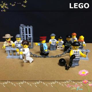 Lego - LEGO レゴシティ ミニフィグ 刑務所 犯人 囚人 悪党