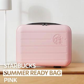 スターバックスコーヒー(Starbucks Coffee)の韓国限定スターバックス(starbucks)サマーレディバッグ ピンク(スーツケース/キャリーバッグ)