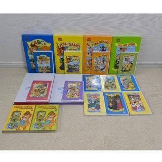Disney - DWE Zippy and me DVD14本&アクティビティブックセット6点