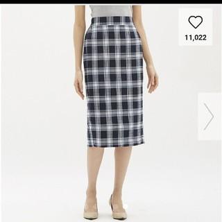 ジーユー(GU)のロングタイトスカート(ロングスカート)