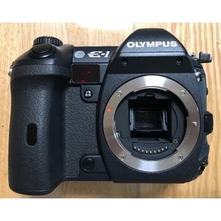 オリンパス(OLYMPUS)のオリンパス OLYMPUS E-1 ボディ 極上品 レリーズ528回(デジタル一眼)