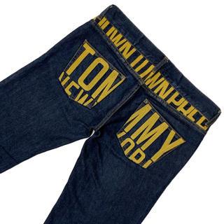 トミーヒルフィガー(TOMMY HILFIGER)のz89a◎TOMMY◎バック刺繍デニム◎M◎ウエスト82cm◎濃紺(デニム/ジーンズ)