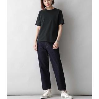 YLÈVE Organic cotton Bio  Tシャツ 黒 タグ付き