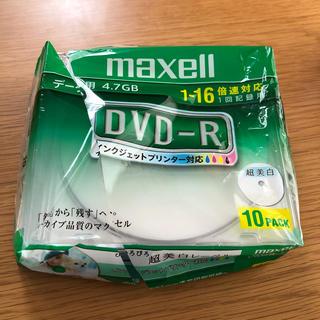 マクセル(maxell)のmaxell DVD-R6枚(その他)