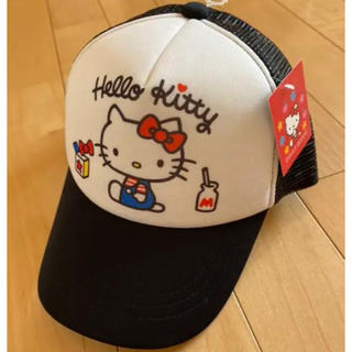 サンリオ(サンリオ)の新品未使用タグ付き キティちゃん キッズ キャップ 帽子(帽子)