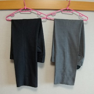 アオヤマ(青山)のスラックス 二本セット ウエスト88cm 90cm 洋服の青山(スーツ)