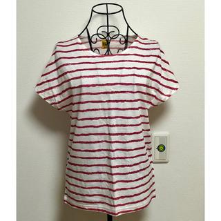 バックナンバー(BACK NUMBER)のback number レディースボーダー半袖Tシャツ(Tシャツ(半袖/袖なし))