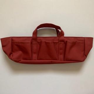 ムジルシリョウヒン(MUJI (無印良品))のバッグインツールケース エンジ(バッグ)