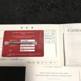 Cartier - WSSA0009 サントス ドゥ カルティエ LM 2019年6月購入 保証付